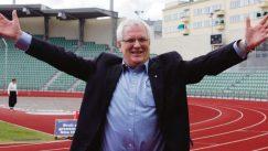 Friidrettsleder Svein Arne Hansen er borte