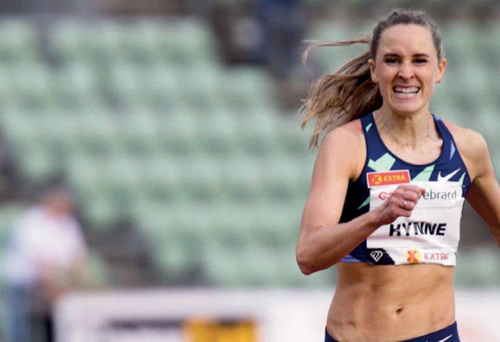 STOR FRAMGANG: Hedda Hynne løpte seg rett inn i verdenstoppen på 800meter med tiden 1.58.10 tidligere i høst. Her fra Impossible Games i sommer. FOTO: EIRIK FØRDE