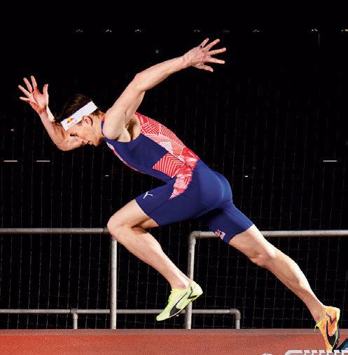 TRØKK I STEGET: – Jeg har heldigvis klart å holde oppe trøkket på treningssiden, og det er det viktigste for meg rent sportslig, forteller Karsten Warholm. FOTO: RED BULL