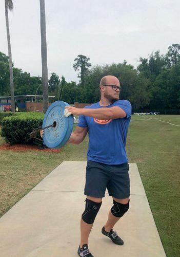 #HEVET SEG: – Jeg tror jeg har hevet meg både teknisk og fysisk, sier Thomas Mardal. Her fra trening på sin andre hjemmebane i Florida. FOTO: PRIVAT