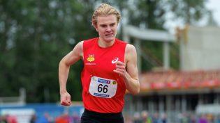 Tobias Grønstad: – Digger 800 meter!