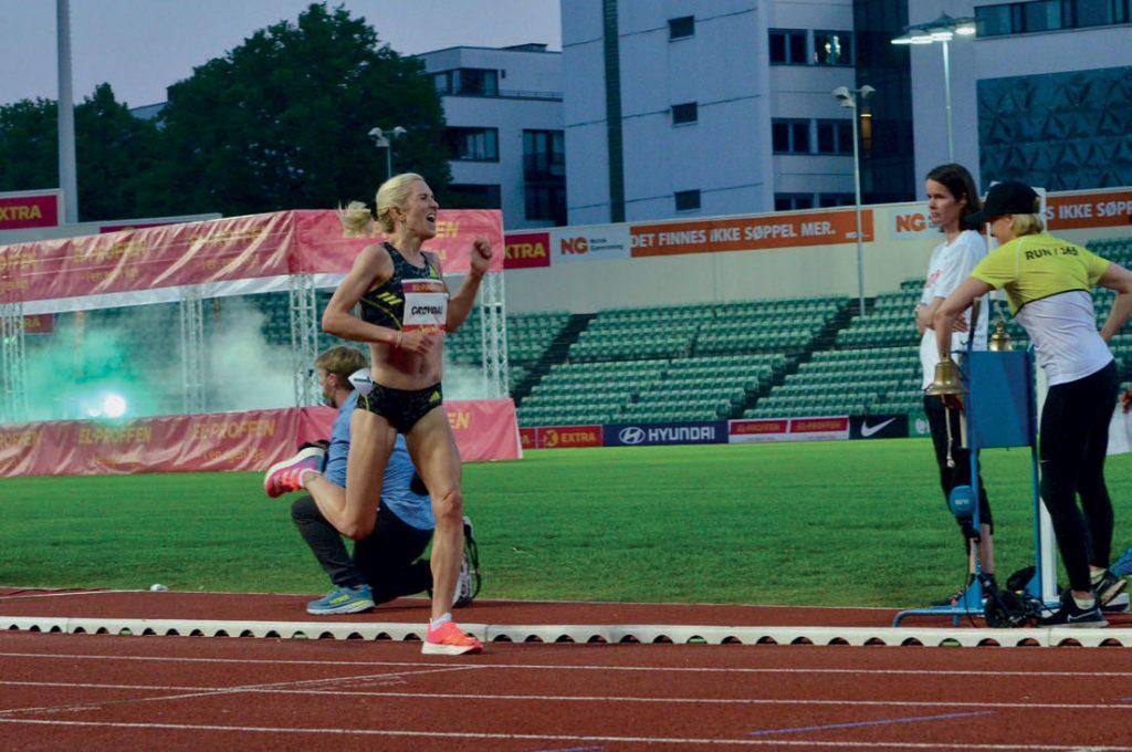 DOBBEL DISTANSE: Karoline Bjerkeli Grøvdal løper både 5000 og 10 000 meter i OL. FOTO: KRISTIN ROSET