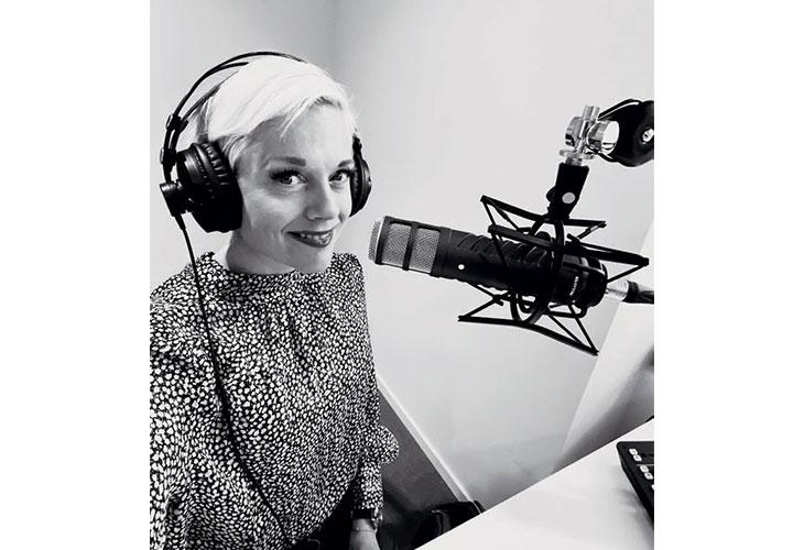 NY FRIIDRETTSPODCAST: Kristin Roset hoppet inn i ny rolle i januar. –Podcast er et nytt format for meg, men det er veldig gøy. Alle som har blitt intervjuet har gitt gode tilbakemeldinger, sier Roset.