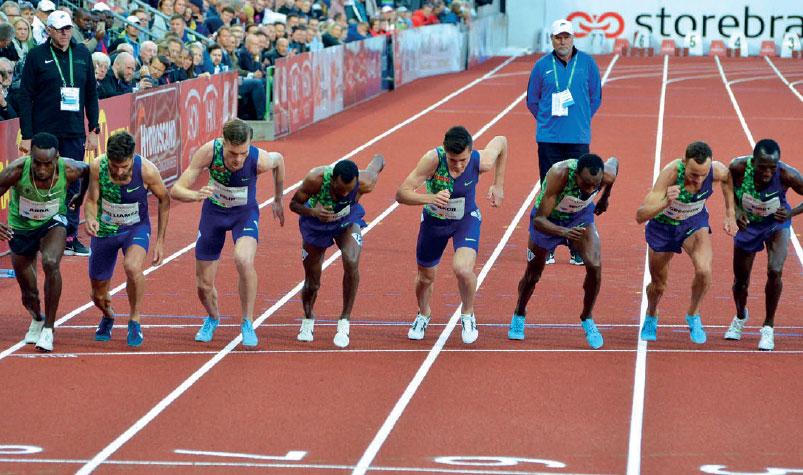 1500 METER SPENNING: Jakob Ingebrigtsen er vårt store håp på 1500 meter. Den 7.august klokka 13.40 er det klart for finale. FOTO: KRISTIN ROSET